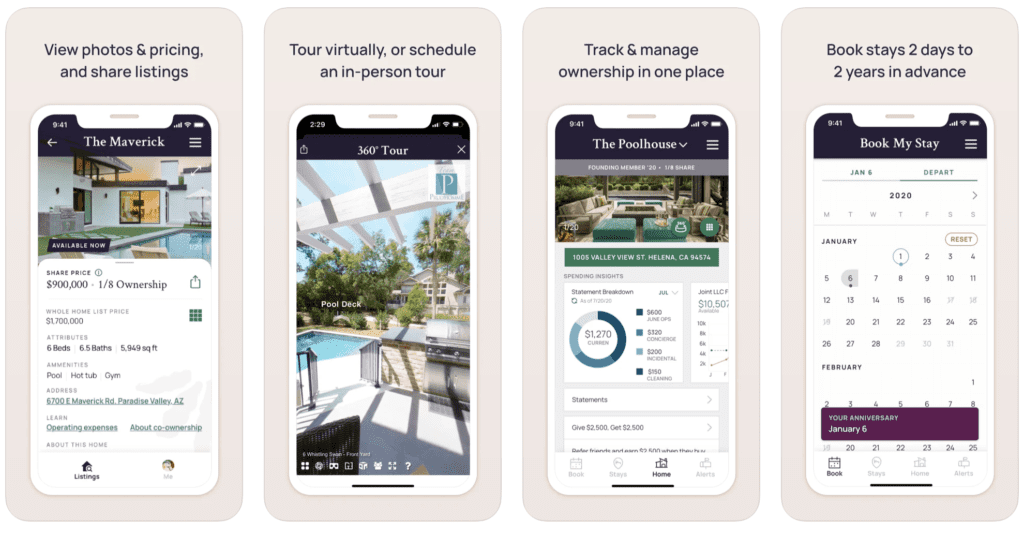Pacaso Second Home Ownership App
