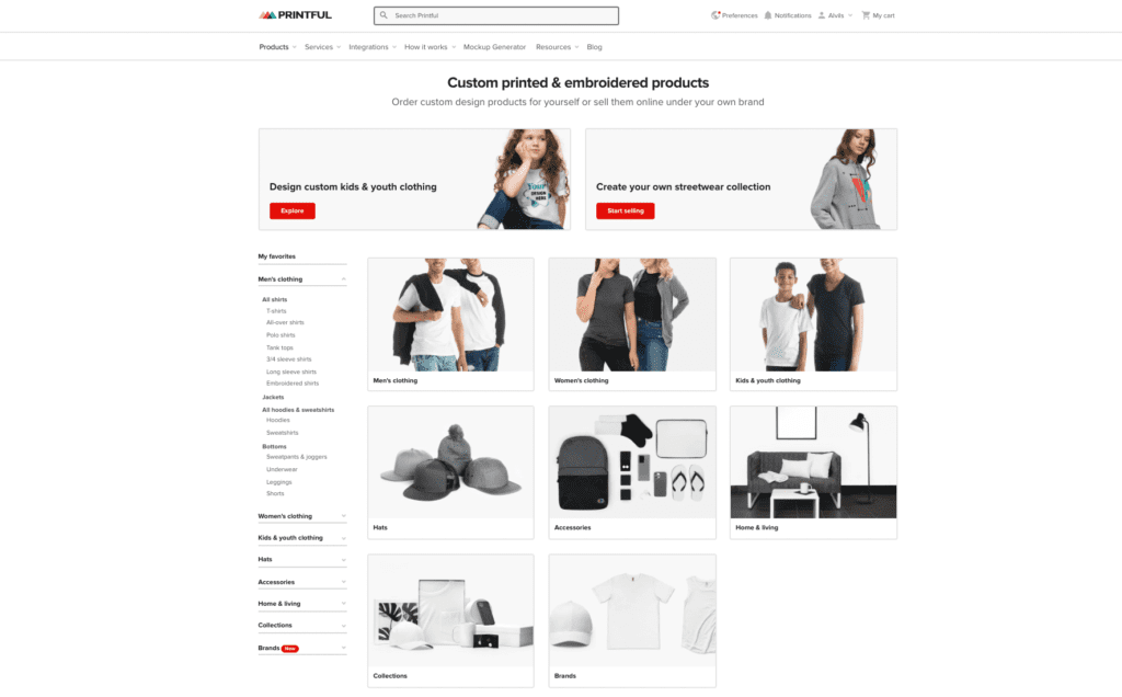 Prinful Home Page