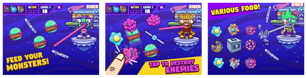 Beetroot Lab Space Diner Game Preview
